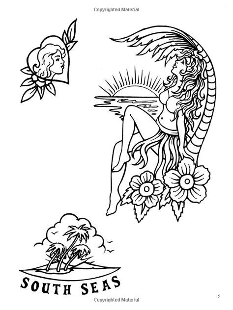 Classic Tattoo Designs: Coloring Book: Eric Gottesman