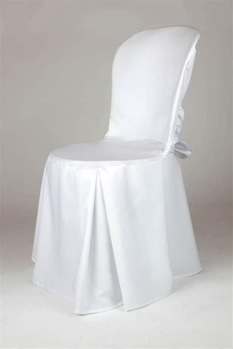 housse de chaise sur mesure sobeltrade housse de chaise bistrot avec noeud