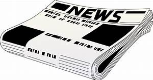Newspaper Background Clipart