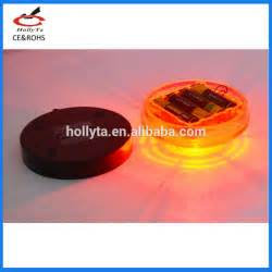 Steady Yellow Light by Wholesale Led Round Battery Powered Magnetic Base Strobe
