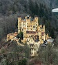 Hohenschwangau Castle opposite Neuschwanstein - Travel ...