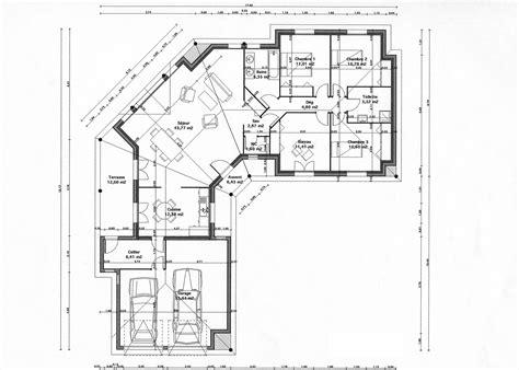 maison plain pied 3 chambres plan maison fonctionnelle plain pied pf12 jornalagora