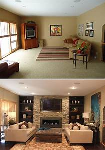Before and after home interior design picture rbserviscom for Interior decorating ideas before and after