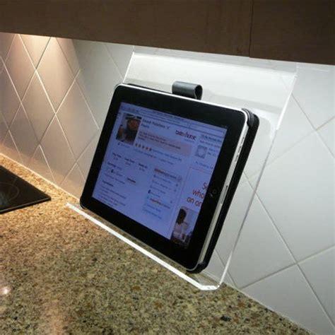 tablet holder for kitchen kitchen holder 187 gadget flow