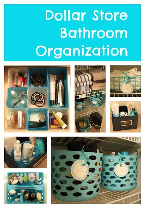 diy storage ideas  organize  bathroom home decorating pinterest diy storage