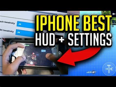 iphone  hud  settings handcam fortnite mobile