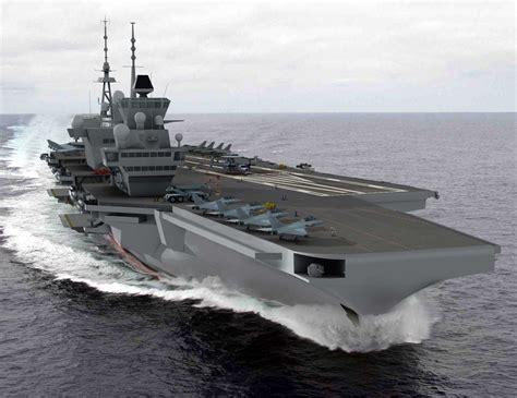 second porte avions o 249 en est le projet franco britannique mer et marine