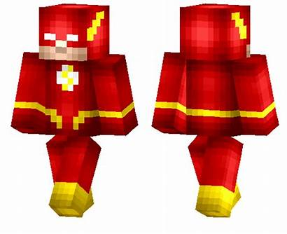 Flash Skin Skins Minecraft Pe Superhero Dc