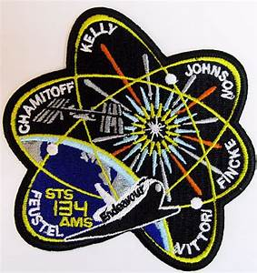 NASA STS-134 Endeavour Embroidered Mission Patch