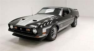 Raven Black 1971 Ford Mustang