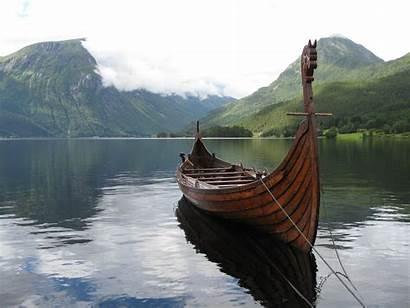 Viking Ship Vikings Norwegian Norway Fjord Longship