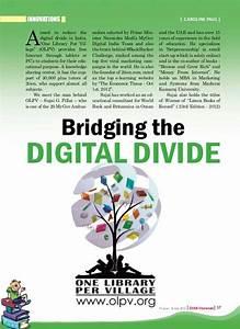 Bridging Digital Divide