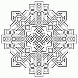 Coloring Pages Geometric Complex Popular sketch template