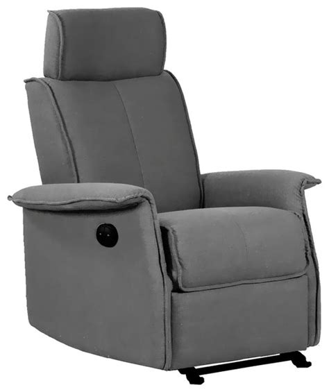 dezmo electric push button recliner with glider motion