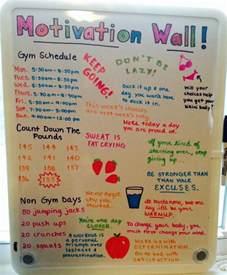 Motivation Wall Pinterest