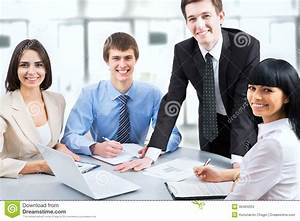 Business People Working At Meeting Stock Images - Image ...