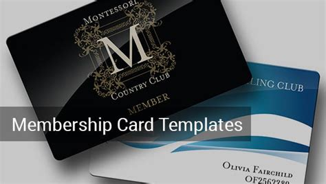 membership card designs templates  premium