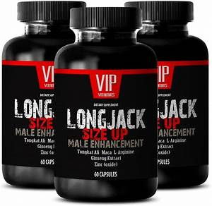 Testosterone Booster For Men Over 50 - Longjack Size Up 2170mg
