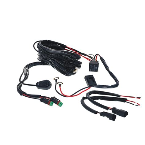 led light bar wiring harness offroad light bar accessories wire up led light bar