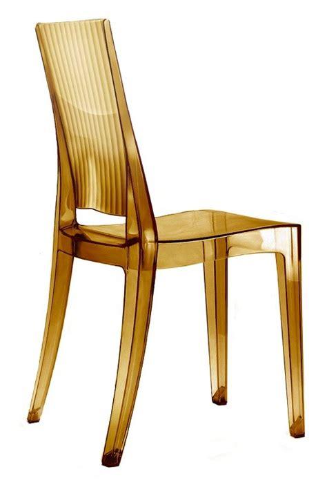 sedie in policarbonato trasparente sedia glenda in policarbonato