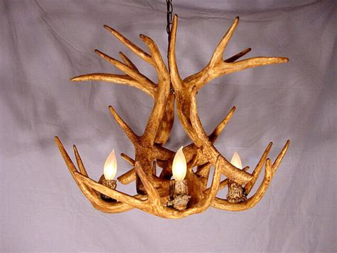 faux deer antler chandelier faux antler whitetail chandelier 4 light sockets ls