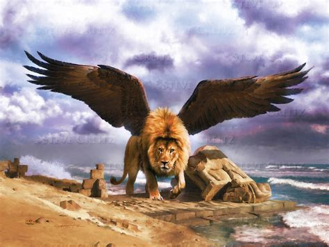 Lion Of Babylon Hd — Creitz Illustration Studio