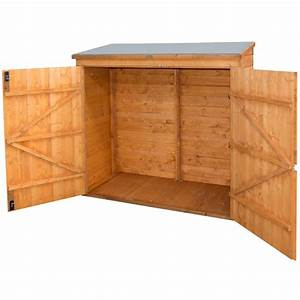 Remise En Bois Pour Jardin : coffre abri multifonctions en bois 2000l rowlinson ~ Premium-room.com Idées de Décoration