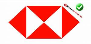 Red And White Logo With Triangles - Clipart Library