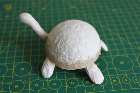 Tutorial alebrije tortuga Animales de papel maché