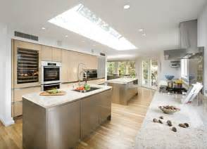 large kitchen ideas beautiful design of big kitchen in colors digsdigs