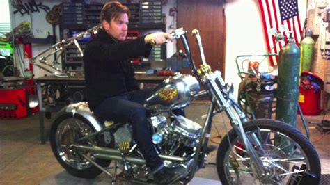 ewan mcgregor selling panhead  auction motorbike writer