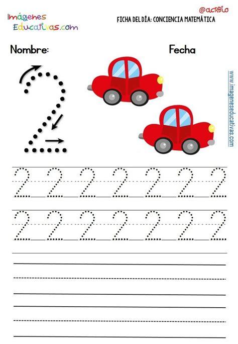 Fichas Para Trabajar Los Números (11)  Imagenes Educativas