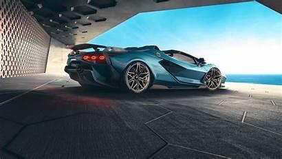 2021 Lamborghini Sian Roadster Supercars Wallpapers Supercar