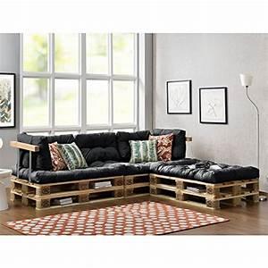Paletten Couch Kissen : paletten sofa indoor sofa mit paletten kissen ~ Orissabook.com Haus und Dekorationen