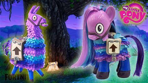 fortnite loot llama   pony pinata custom tutorial