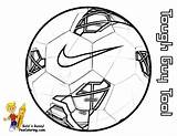 Soccer Coloring Ball Print Pages Nike Sports Football Fifa Balls Shoes Exclusive sketch template