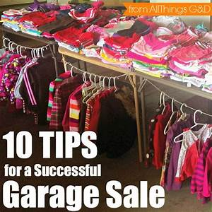 Homes com: Garage Sale Tips - All Things G&D