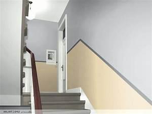 Wand Mit Bildern Gestalten : bescheiden treppenhaus gestalten farbe geraumiges flur neu streichen die besten 20 mit home design ~ Sanjose-hotels-ca.com Haus und Dekorationen