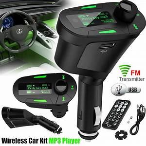 Mp3 Player Auto : car fm kit wireless transmitter mp3 usb player charger ~ Kayakingforconservation.com Haus und Dekorationen