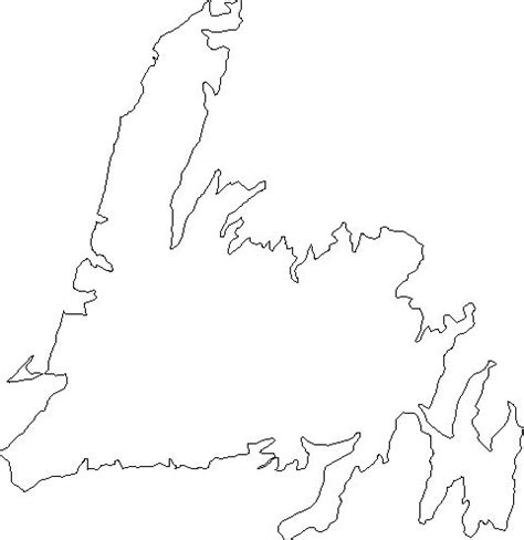 hmmmmmm tattoos newfoundland map drawings map outline