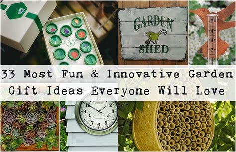 33 Most Fun & Innovative Garden Gift Ideas Every Gardener