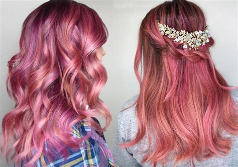 What Color To Dye Hair by 55 Lovely Pink Hair Colors Tips For Dyeing Hair Pink