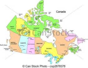 Great Lakes and Canada Maps Provinces