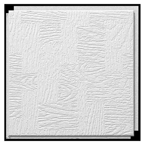 12x12 Ceiling Tiles Armstrong by Shop Armstrong 12 Quot X 12 Quot Homestyle Glenwood Ceiling Tile