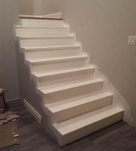 Deco Marche Escalier : peinture pour l 39 escalier du sous sol ~ Teatrodelosmanantiales.com Idées de Décoration
