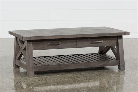 Jaxon Grey Lifttop Coffee Table  Living Spaces