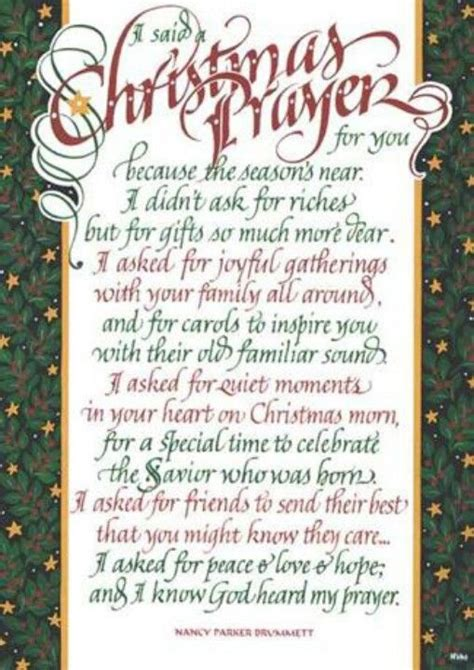 christmas prayer school ideas pinterest