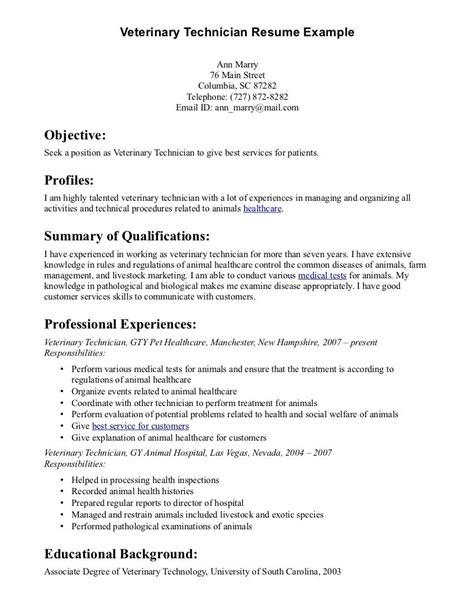 Veterinarian Resume Template by College Veterinary Medicine Cornell Sle