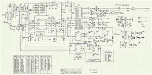 Electro Help  Philips Color Tv - Te3-2e-ca Chassis - Schematic - Power