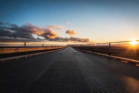 road, Sun, Clouds Wallpapers HD / Desktop and Mobile ...